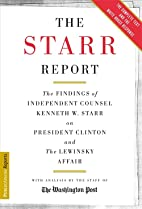 The Starr Report: The Findings of…