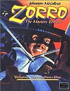 Johnston McCulley's Zorro : the masters…