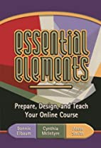 Essential Elements: Prepare, Design, and…