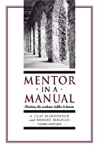 Mentor in a Manual: Climbing the Academic…