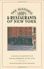 The Historic Shops and Restaurants of New…