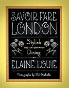 Savoir Fare London: Stylish Dining for Under…