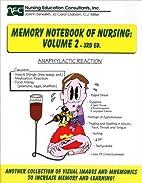 Memory Notebook of Nursing, Vol. 2 by Joann…