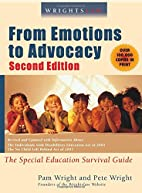 Wrightslaw: From Emotions to Advocacy: The…