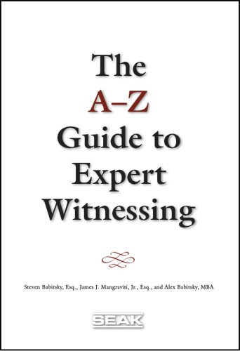 a-z-guide-to-expert-witnessing