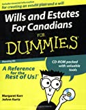 Kerr, Margaret: Wills and Estates for Canadians for Dummies