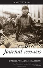 Harmon's Journal, 1810-1819 (Classics West)…