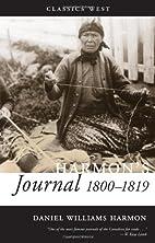 Harmon's Journal, 1810-1819 (Classics West)…