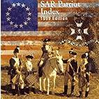1999 SAR Patriot Index by National Society…