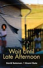 Wait Until Late Afternoon by David Bateman