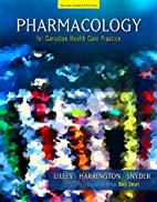 Pharmacology for Canadian Health Care…