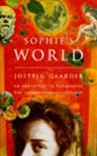 Sophie's World: A Novel About the…
