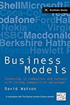 Business Models by David Watson