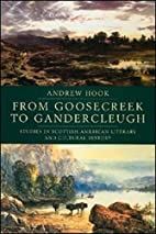 From Goosecreek to Gandercleugh: Studies in…