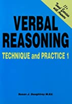 Verbal Reasoning Technique and Practice:…