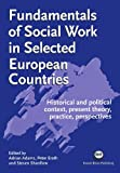 Adams, Adrian: Fundamentals of Social Work in Selected European Countries: Historical and Political Context, Present Theory, Practice, Perspectives