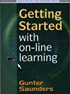Getting Started with On-line Learning…