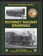 Rhymney Railway Drawings (Welsh Railways…