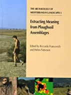 Extracting meaning from ploughsoil…