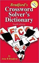 Bradford's Crossword Solver's Dictionary by…
