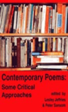 Contemporary Poems: Some Critical Approaches…