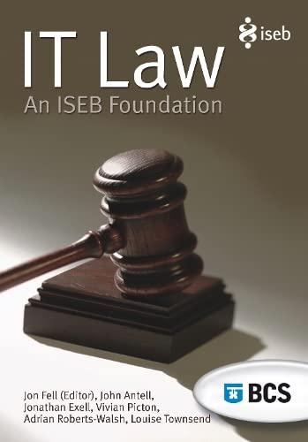 it-law-an-iseb-foundation