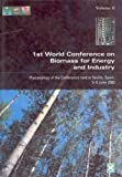 Kyritsis, S.: 1st World Conference on Biomass for Energy and Industry: Proceedings of the Conference Held in Sevilla, Spain, 5-9 June 2000