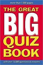 Great Big Quiz Book by Martin Manser