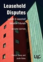 Leasehold Disputes by Francis Davey