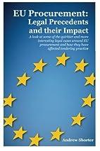 EU Procurement: Legal Precedents and their…