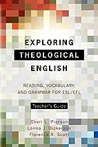 Exploring Theological English Teacher's…