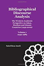 Bibliographical Discourse Analysis: The…