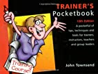 The Trainer's Pocketbook by John Townsend
