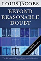 Beyond Reasonable Doubt by Louis Jacobs