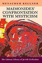 Maimonides Confrontation With Mysticism…