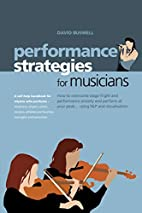 Performance Strategies for Musicians by…