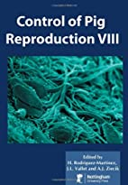 Control of Pig Reproduction VIII (Society of…