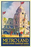 Green, Oliver: Metro-land: British Empire Exhibition 1924 Edition