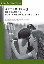 After Iraq: Reframing Postcolonial Studies…