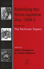 Rethinking the Russo-Japanese War, 1904-5 by…