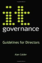 IT Governance: Guidelines for Directors by…