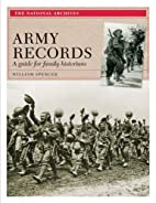 Army Records: A Guide for Family Historians…