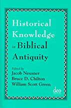 Historical Knowledge in Biblical Antiquity…