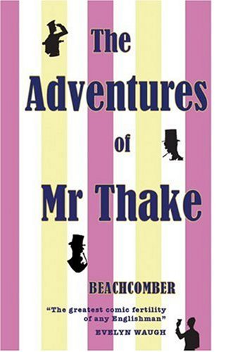 The Adventures of Mr Thake cover