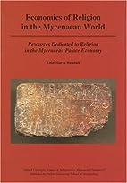Economics of Religion in the Mycenaean…