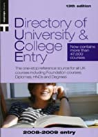 Directory of University & College Entry…