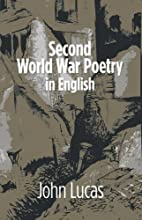Second World War Poetry in English by John…