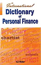 International Dictionary of Personal Finance…