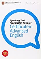 Speaking Test Preparation Pack for CAE…