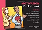 Motivation Pocketbook by Max A. Eggert